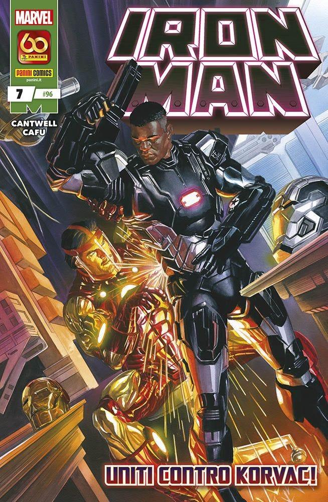 Iron Man 7 Prevendita magazines