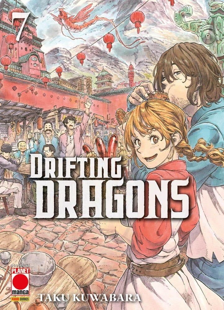 Drifting Dragons 7 Da Cinema e Animazione books