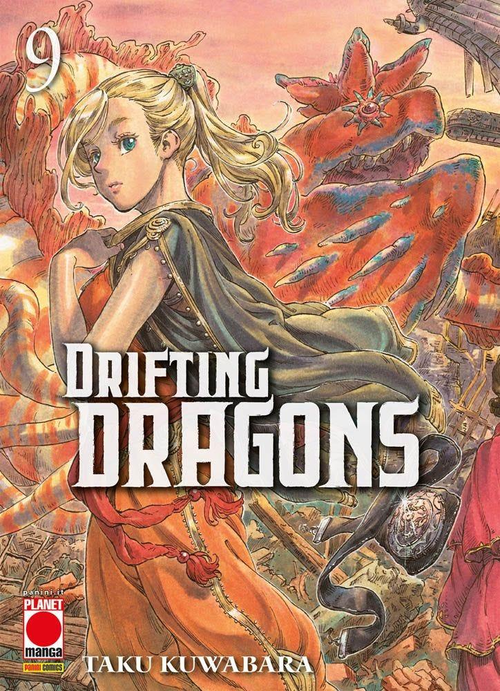 Drifting Dragons 9 Da Cinema e Animazione magazines