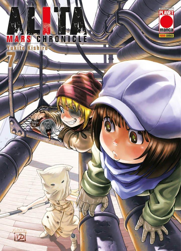 Alita Mars Chronicle 7 Da Cinema e Animazione magazines