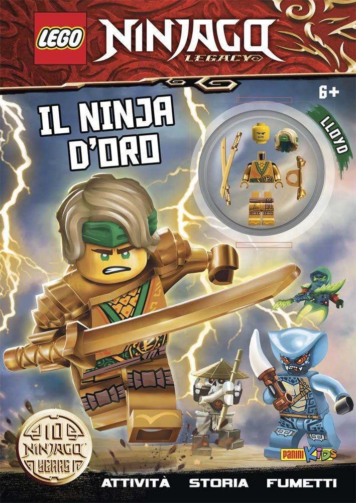 Lego Ninjago Legacy: Il Ninja D'Oro LEGO magazines