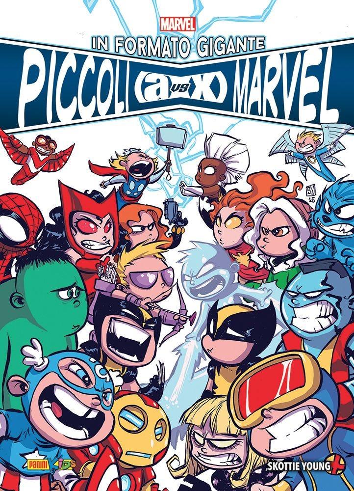 Giant-Size Little Marvel: AVX Raccolte in Volume magazines
