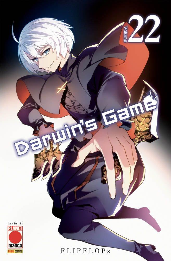 Darwin's Game 22 Horror magazines