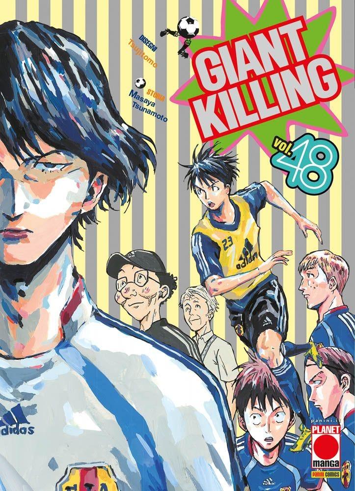 Giant Killing 48 Sportivo books