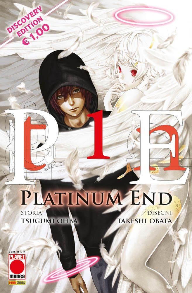 Platinum End – Discovery Edition 1 Da Cinema e Animazione magazines