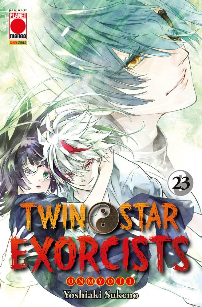 Twin Star Exorcists 23  books
