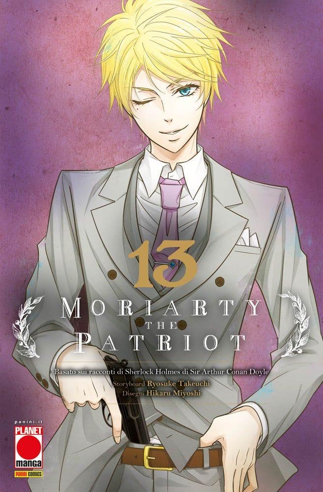 Moriarty the Patriot 13 Azione books