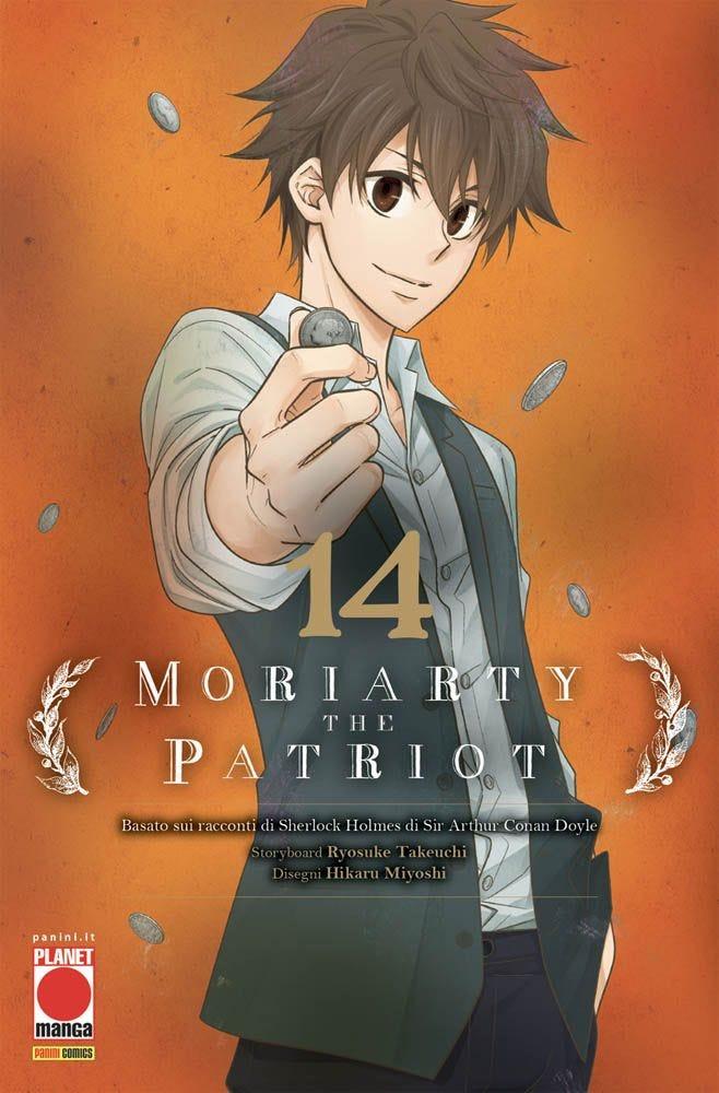 Moriarty the Patriot 14 Azione magazines