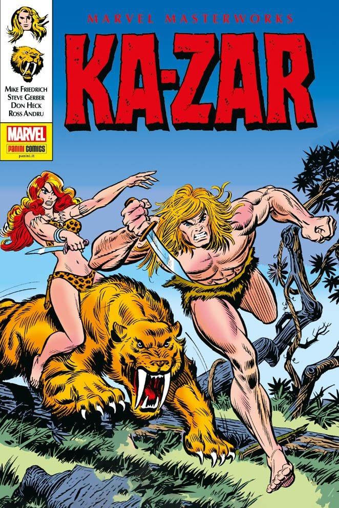 Ka-Zar 2 Marvel Masterworks magazines