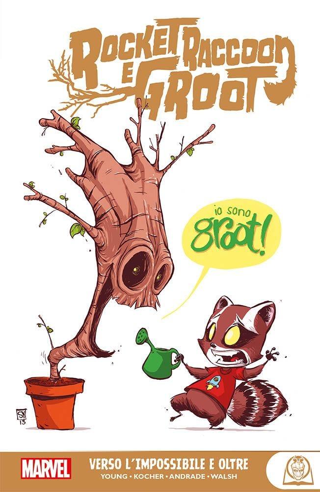 Rocket Raccoon e Groot Prevendita books
