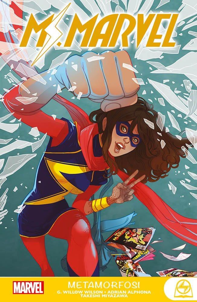 Ms. Marvel: Metamorfosi Raccolte in Volume magazines