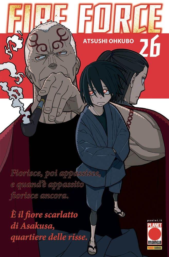 Fire Force 26 Da Cinema e Animazione magazines