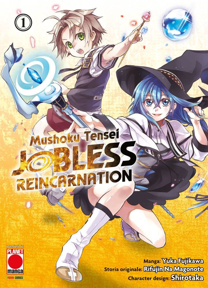 Mushoku Tensei – Jobless Reincarnation 1 Fantasy magazines