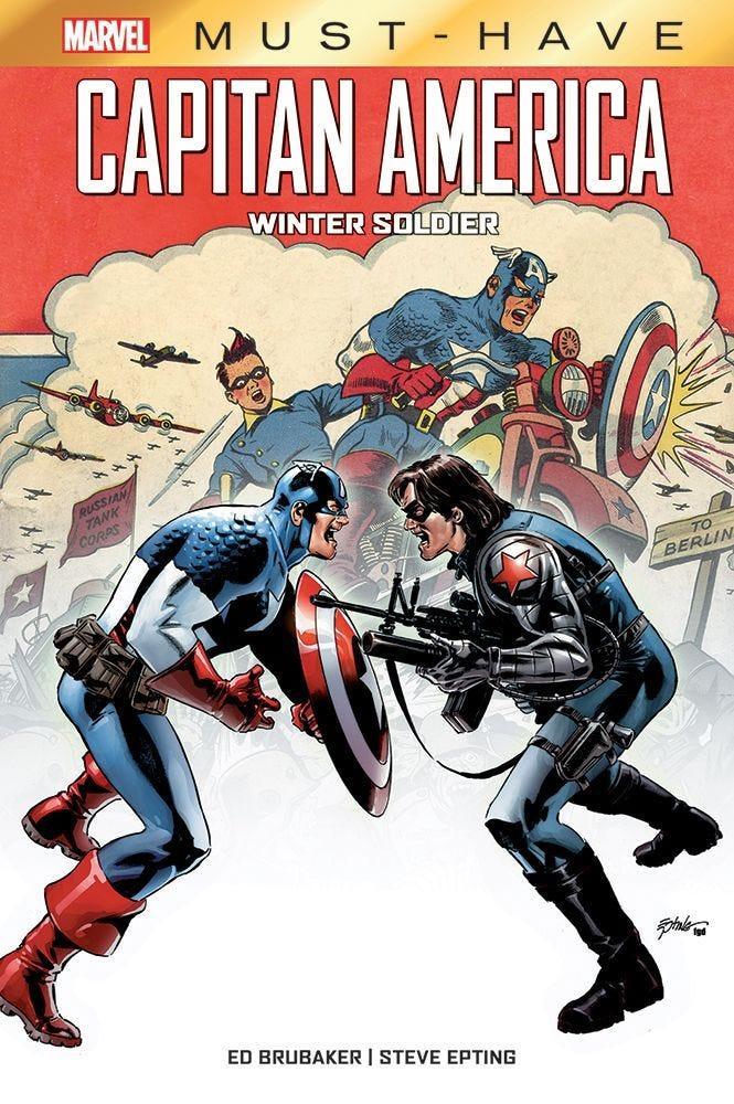 Capitan America: Winter Soldier Iniziare a Leggere Marvel magazines