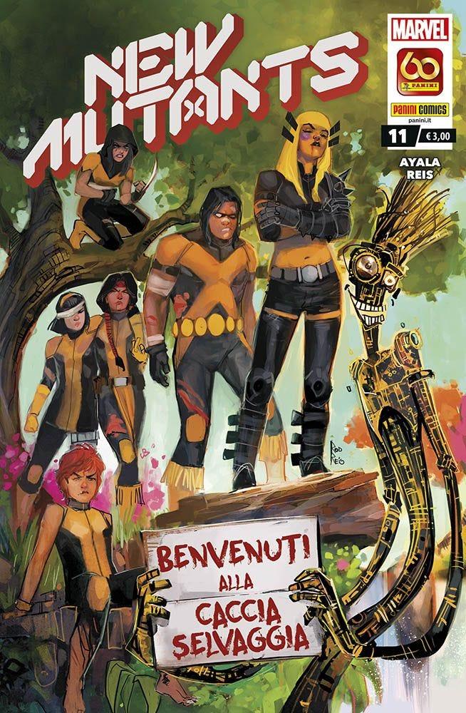 New Mutants 11 Prevendita magazines
