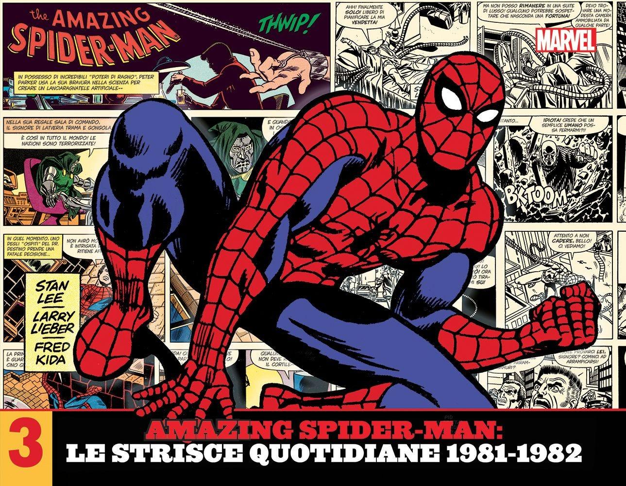 Amazing Spider-Man: Le Strisce Quotidiane 1981-1982 Raccolte in Volume magazines
