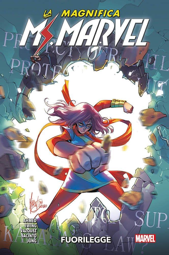 La Magnifica Ms. Marvel 3 Prevendita magazines