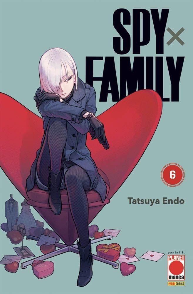Spy x Family 6 Azione magazines