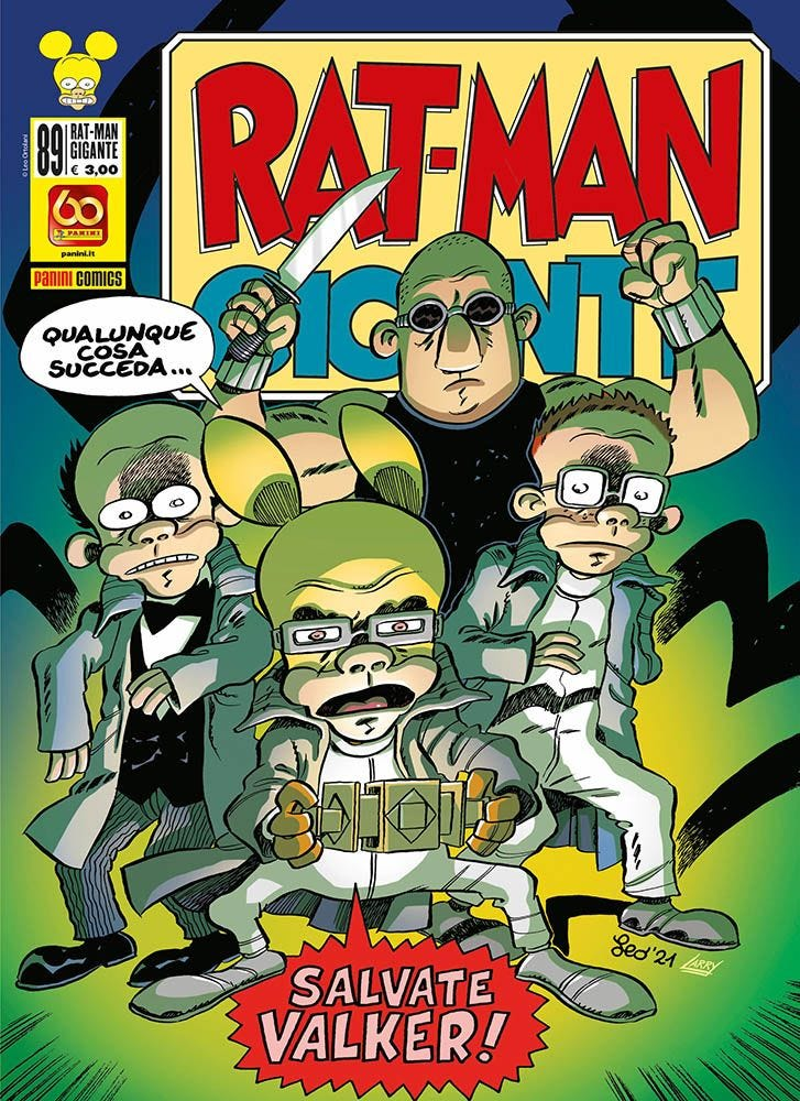 Rat- Man Gigante 89 Umoristico e Parodia magazines
