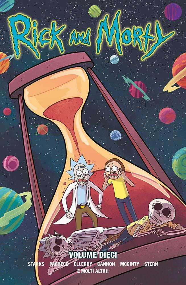 Rick and Morty 10 Cinema, Videogiochi e Serie Tv magazines