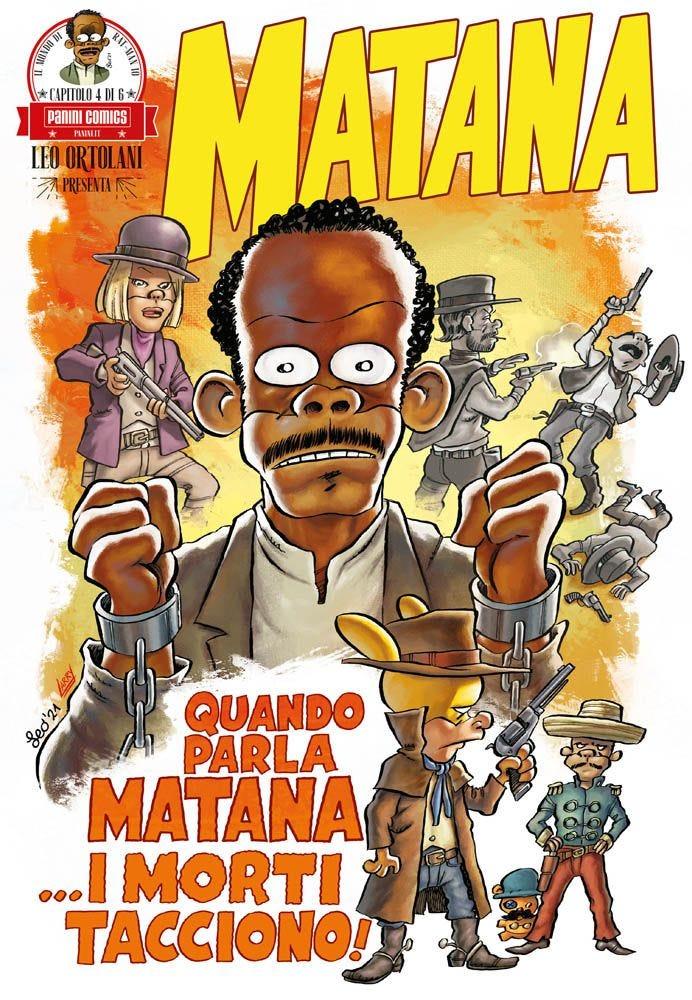 Matana 4 Umoristico e Parodia magazines