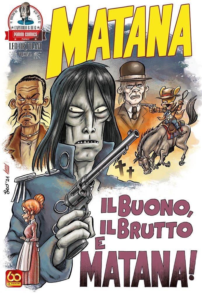 Matana 6 Rat-Man magazines