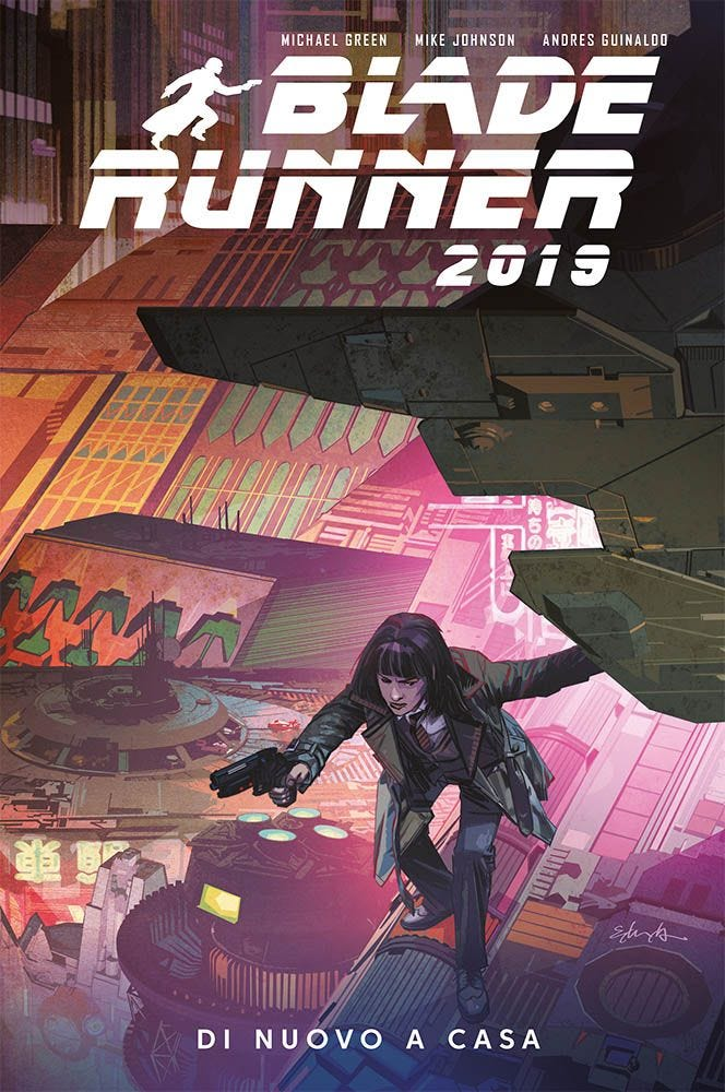 Blade Runner 2019 3 Sci-Fi magazines
