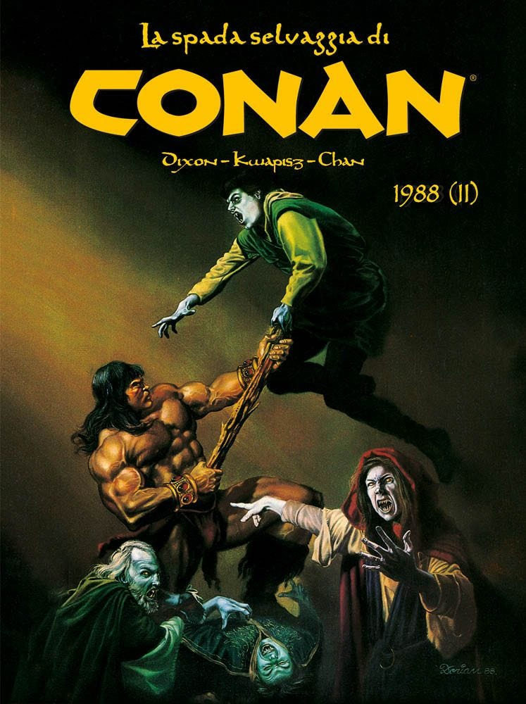 La Spada Selvaggia di Conan (1988 – II) Prevendita magazines