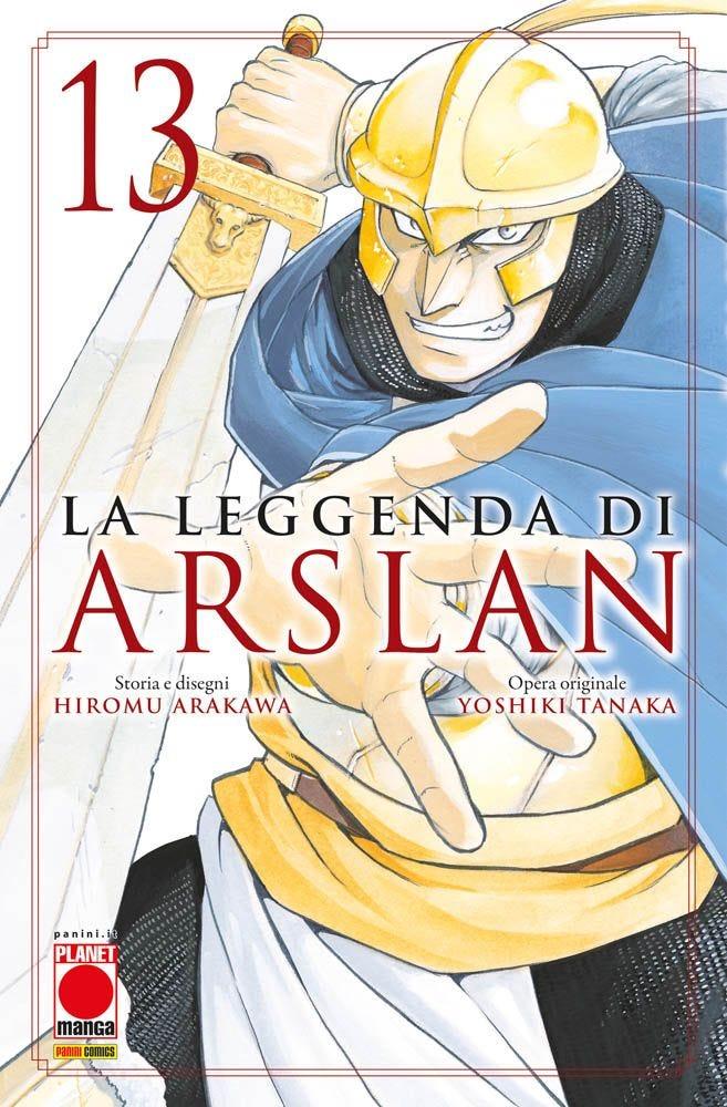 La Leggenda di Arslan 13  books