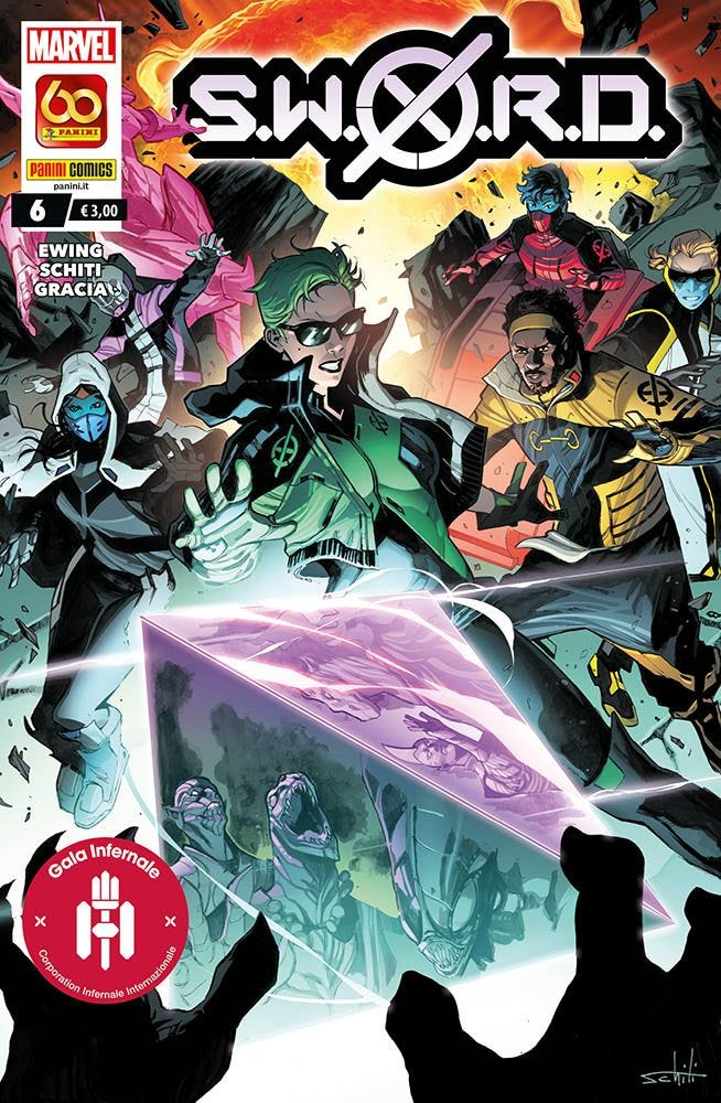 S.W.O.R.D. 6 X-Men magazines