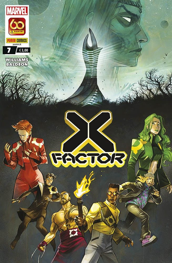X-Factor 7 Serie Regolare books