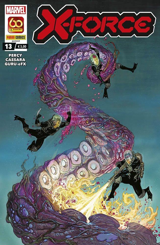X-Force 13 X-Men magazines