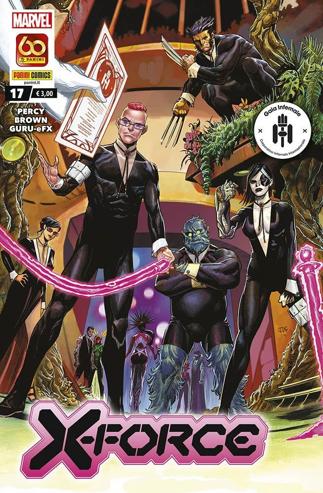 X-Force 17 X-Men magazines