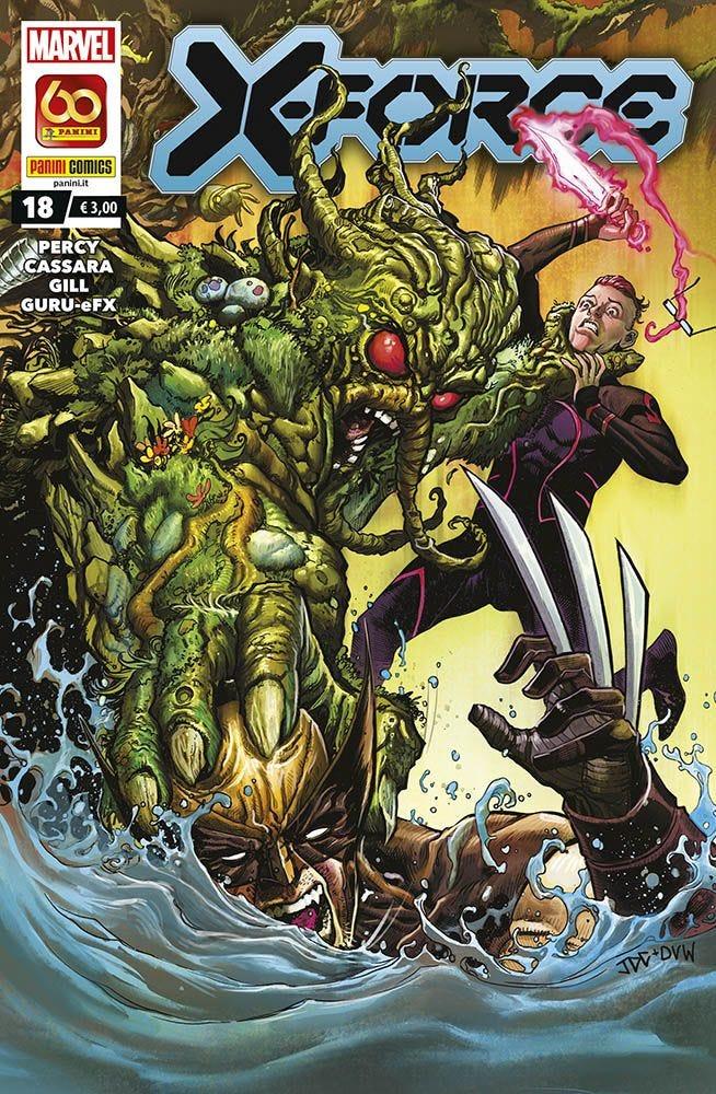 X-Force 18 X-Men magazines