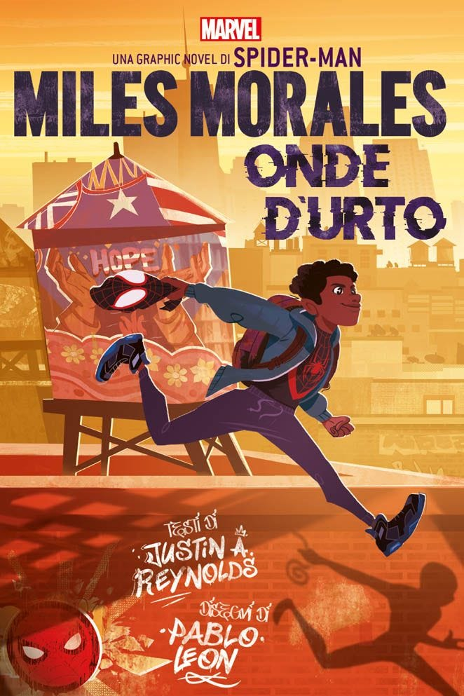 Miles Morales: Onde d'Urto Prevendita books