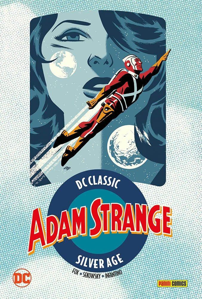 Adam Strange 1 DC Golden e Silver Age magazines