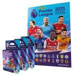 Premier League 2021 Official Sticker Collection - Album + 27 bustine