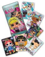 L.O.L SURPRISE! GLITTER 'N' GLOW TRADING CARD COLLECTION - cards mancanti