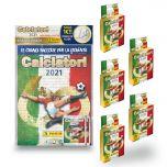Special Pack Calciatori 2021 - 1 starter pack + 5 multiset