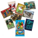 MINECRAFT Adventure Trading Card - cards mancanti