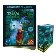 "SPECIAL PACK 1 PACK ""RAYA AND THE LAST DRAGON"" - 1 album omaggio + 1 scatola da 24 bustine"