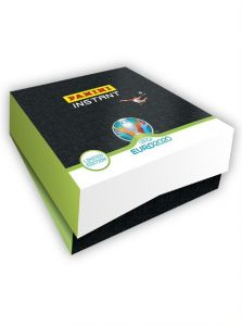 UEFA EURO 2020™ PANINI INSTANT – LIMITED EDITION COLLECTOR'S BOX – TUTTE LE CARD + 11 PARALLEL CARDS