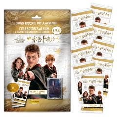 "Super Pack Harry Potter ""Welcome to Hogwarts"" trading card - 1 Starter Pack + 9 bustine"