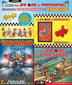 SUPER TOPOLINO N.3416 - 24ore Paperopoli PRIMA USCITA
