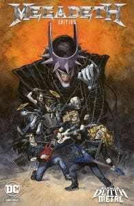 DC CROSSOVER N. 7: BATMAN: DEATH METAL N. 1 EDIZIONE BAND VA
