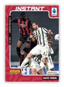 PANINI INSTANT – CARD CALCIATORI 2020-21 #21 – FIKAYO TOMORI - MILAN IN ALTO