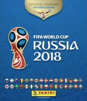 PANINI 2018 FIFA World Cup™ Official Sticker Collection