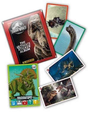 JURASSIC WORLD - Card mancanti