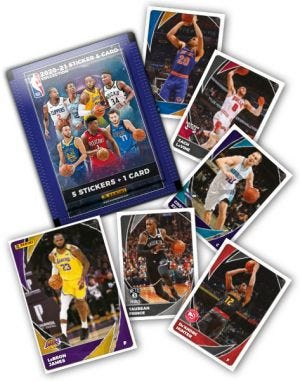 2020-2021 PANINI NBA STICKER AND CARD COLLECTION - cards mancanti
