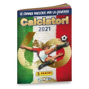 Album del collezionista Calciatori 2021